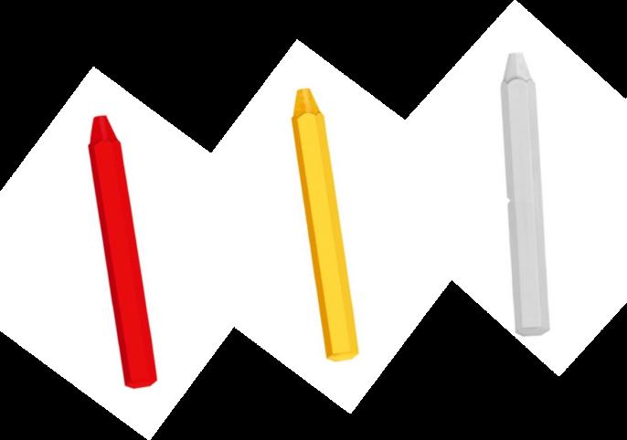 Marcador Industrial Crayón