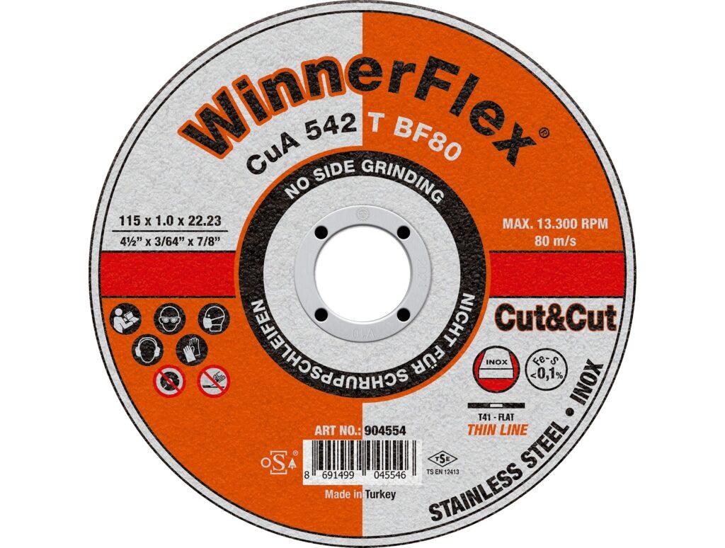 INOX CUTTING DISC PLUS CuA 542 T BF80
